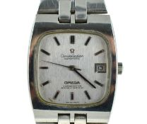 OMEGA - A circa 1970's gents Automatic stainless steel Omega Constellation wristwatch, on original