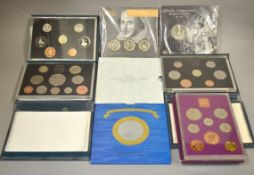 ROYAL MINT - A boxed quantity to include three Deluxe Proof coin sets 2 x 1998 & 1997 together