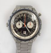 BREITLING - A gentleman's Breitling Navitimer Chrono-Matic Chronograph Automatic Stainless Steel