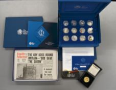 ROYAL MINT - A complete Royal Mint silver coin collection commemorating 'The Queen's Diamond Jubilee