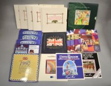 ROYAL MINT - Twenty one uncirculated coin sets
