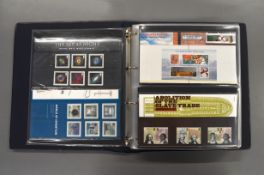 A folder of sixty Royal Mail presentation packs 2007-2011