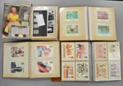 A quantity of stamps, Royal Mail postcards, first day covers etc