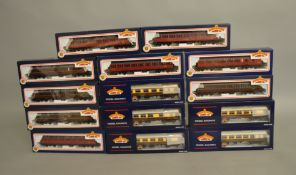 14 boxed Bachmann Coaches of various types including five different Pullman Mk I variants with