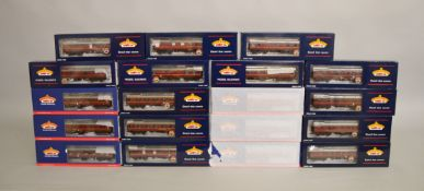 OO Gauge. 19 boxed Bachmann Coaches of various types including sixteen different  Mk I Coach