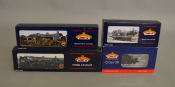OO Gauge. 3 boxed Bachmann Steam Locomotives including  32-080 Class 56xx Tank 5601 BR lined