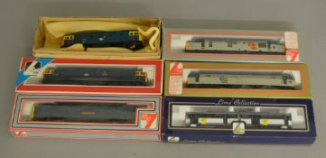 OO Gauge. 5 boxed Lima Locomotives including 205106 Class 55 Deltic 'The Royal Northumberland