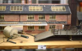 OO Gauge. Approximately 40  industrial and railway related Trackside Buildings and accessories