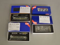 OO Gauge. 4 boxed Heljan DCC Ready Diesel Locomotives including 16051 Class 16 D8405, 1400 Class