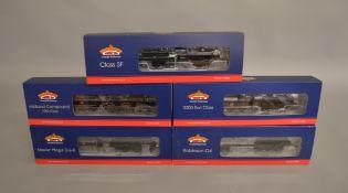 OO Gauge. 5 boxed Bachmann DCC Locomotives, 31-692 2-6-0 Stanier Mogul 42968, 31-626 0-6-0 Class