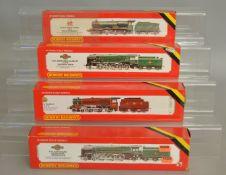 OO Gauge. 4 boxed Hornby Locomotives including R.063 BR Loco Britannia, R.065 BR 2-10-0 Evening