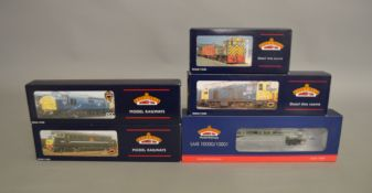 OO Gauge. 4 boxed Bachmann Diesel Locomotives including 31-337B Diesel Shunter D2228, 32-028 Class