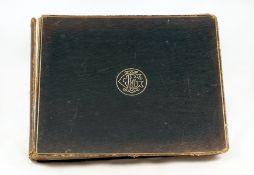 Victorian Album of Amateur & Professional Photos, inc G.W.Wilson. 62 pages (13 blank) 9 1/2 x 11