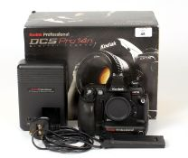 Kodak DCS Pro14n Full-Frame Digital Camera Body #07832. (condition 5E). With 2 batteries and