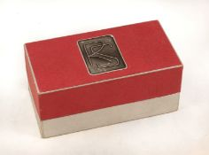 Original Box for a Reid Rangefinder Camera (Empty). Showing the R&S logo to the top. Slight signs of