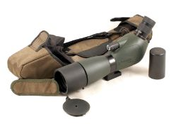 Barr & Stroud Sahara 15-45x60 Angled Spotting Scope. With protective case. Slight edge fungus to