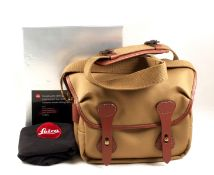Billingham Combination Camera Bag for Leica (14855). With soft cover, in Leica branded box. (Very