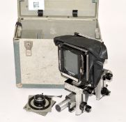 Sinar P 5x4 Monorail Camera Set with Symmar 180mm f5.6 Convertible Lens. (condition 5F) with extra