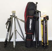 Tripod & Monopods, inc Benbo Trekker & Case. Also a Manfrotto 694 Magfiber monopod with 486 ball &
