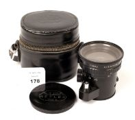 Angenieux 28mm f3.5 Retrofocus Lens for Alpa. #1133557 (condition 5F) with Alpa filter, case and
