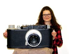 Probably The World's Largest Leica?