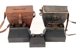 Three Twin-Lens Cameras. To include a large and a small 'JC' Photo Jumelle and a Carpentier camera