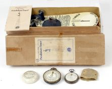 A Rare Adams & Co Combined Exposure Meter & Stopwatch, circ 1920s. In Pocket Watch form with one