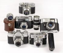 Uncommon Voigtlander BR, Plus Other Models & Lenses. To include BR with Color Skopar 50mm f2.8;