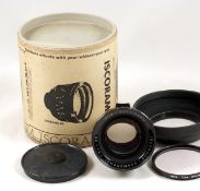Iscorama-36 Anamorphot 1.5x Focusing Anamorphic Lens. (condition 3E) With caps, UV filter, Hoya wide