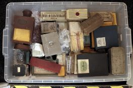 A LARGE Plastic Crate of Vintage Kodak, Boots & Other Darkroom Equipment. To include many Kodak