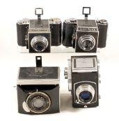 Mentor Compur & Other Reflex Cameras. Comprising Uncommon Mentor Compur Reflex with Tessar 10.5cm
