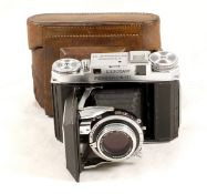 Rare Kershaw Peregrine III Folding Camera. #4/26226 (condition 5F). Fitted with a Taylor Hobson 80mm