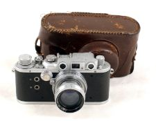 Reid IIIa Camera with RARE Early (unknown?) Taylor Hobson Type Lens.