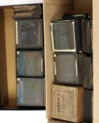 Box of Over 180 Religious & Other Part Sets of Magic Lantern Slides. To include 2 interesting