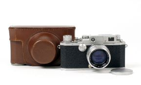 Canon IID(2) Rangefinder Camera Body #175148 with Canon Lens 50mm f1.4 #126842. (all condition