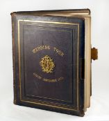 A LARGE Victorian Wedding Tour Album, Including George Washington Wilson & James Valentine Prints.