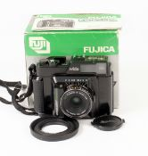 Fujica GS645 Professional Wide Angle Rangefinder Camera. #6070414. With fixed Fujinon W 45mm f5.6