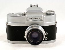 Uncommon Wrayflex II with Unilux f2.8 50mm Lens. #4277/238089. (very slight separation to edge of