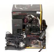Kodak DCS Pro SLR/n Full-Frame Digital Camera Body #23404. Up-dated version of the more common