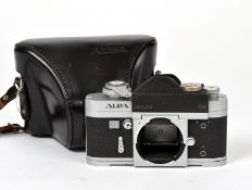 Chrome Alpa 9d Camera Body #51268. (condition 5F) with ERC.
