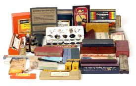 A Large Box of Print & Negative Retouching & Colouring Dyes & Kits etc. Covering a wide date range