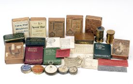 Box of Unusual Vintage Exposure Meters by Watkins, Wynne etc. To include several Watkins Bee