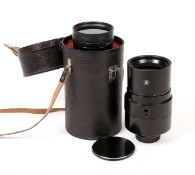 Soviet 3M-5A 500mm f8 Mirror Lens, Nikon Fit. #N788346. (condition 4/5E). With case and filters.