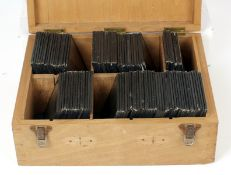 Over 90 Magic Lantern Slides, Churches of Leicestershire, Nottinghamshire etc. With several Norfolk,