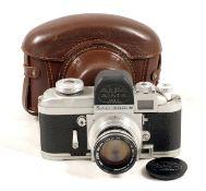 Alpa-Alnea Model 7 with Switar 50mm f1.8 Lens. Body serial #31251 (condition 5F). Switar lens