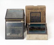 Rare Set of Twenty Six Magic Lantern Slides 'A Walk Through the White City', 1908. At the time,