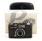 Uncommon Olympus Pen W Wide Angle Half Frame Camera. E. Zuiko-W 2.8 25mm lens (some wear/