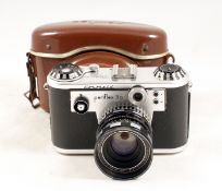 Corfield Periflex 3a 35mm SLR. Not firing/blinds not moving/seized, advance lever rotates with no