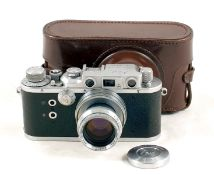 Reid & Sigrist Reid IIIa Rangefinder Camera #P1467. (condition 5F). With Taylor Hobson 2 inch f2