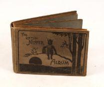 1920s Little Nipper Photograph Album. Designed to accompany the Butcher's Little Nipper camera